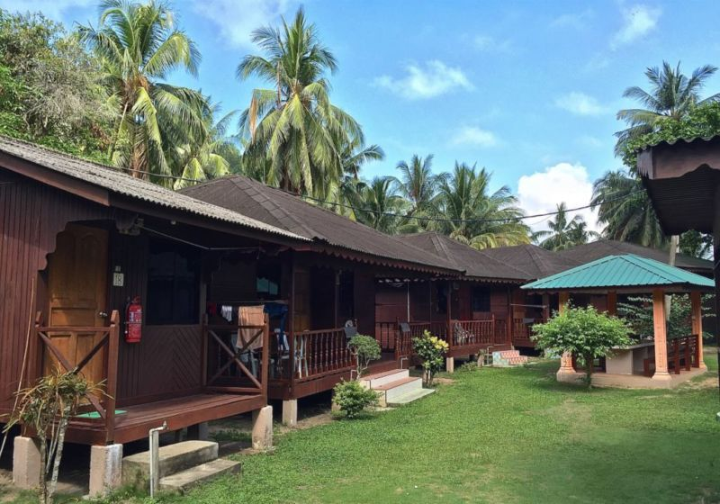 Chalet rooms, Salang Pusaka Resort, Tioman