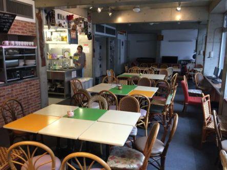 Kitchen and dining area, Sakura Hostel Asakusa, Tokyo
