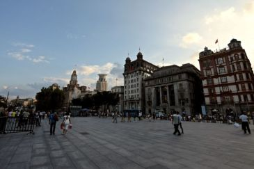 Chen Yi Square. The Bund, Shanghai, China @2015