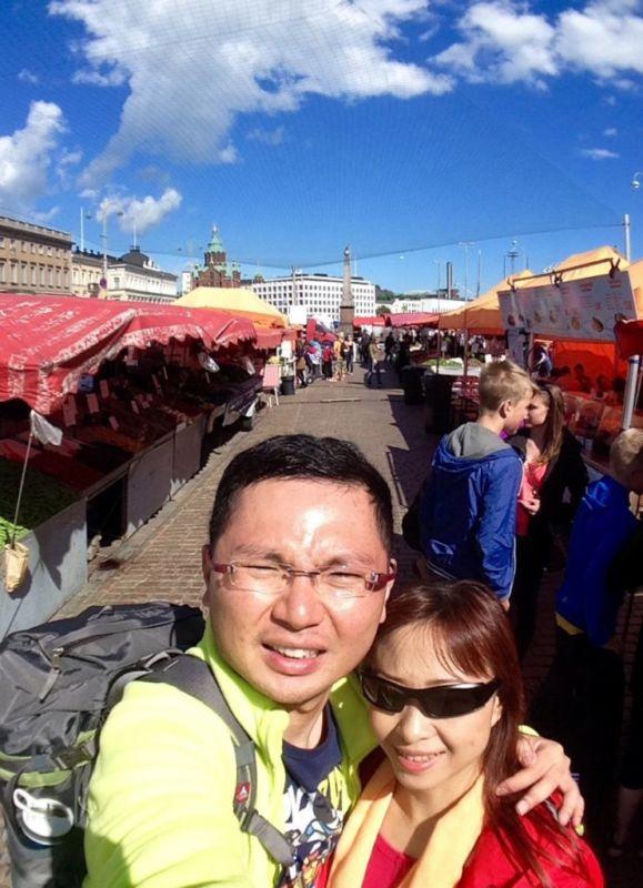 The Market Square (Kauppatori), Helsinki, Finland