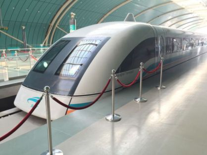 Maglev train, Shanghai @2015