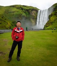 Skógafoss. One of the biggest and most beautiful waterfall in Iceland.