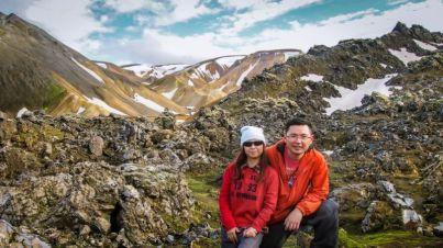 2-hour hike to Mt. Brennisteinsalda. Passing through Laugahraun lava field.