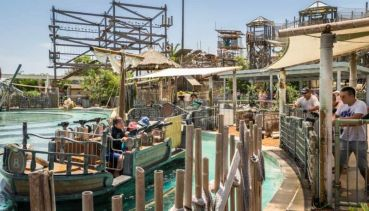 Castaway Bay. With over 80 water cannons, get ready have a blast of a time with your family members and friends!