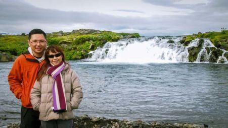 Mini-waterfall en-route to Askja (via F88)