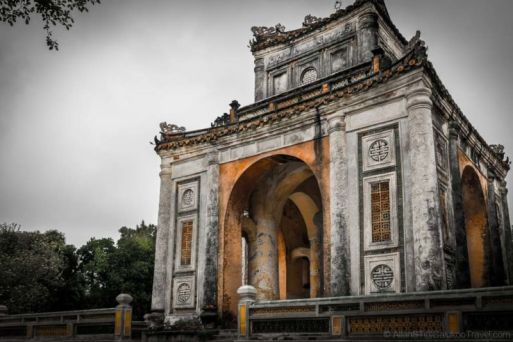 Tu Duc Tomb (Hue, Central Vietnam). Widely regarded as the last emperor of Vietnam, Tu Duc was the last to rule Vietnam independently before parts of it became a French colony.