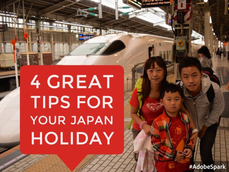 4 Great Tips for your Japan Holiday