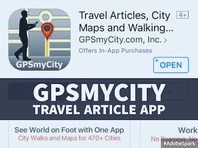 GPSmyCity: Self-Guided City Walk App