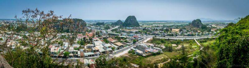 View from Water Mountain. (Da Nang, Vietnam)