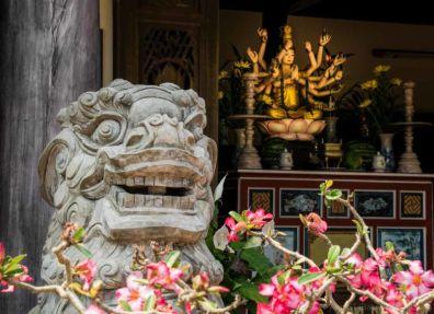 Buddhist temple on Water Mountain. (Da Nang, Vietnam)