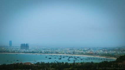 From the Lady Buddha, one could have a sweeping view of My Khe Beach and Da Nang city.