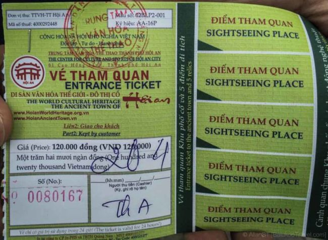 Hoi An World Heritage Site Entrance Ticket, with 5 complimentary sightseeing coupons (Da Nang, Vietnam)