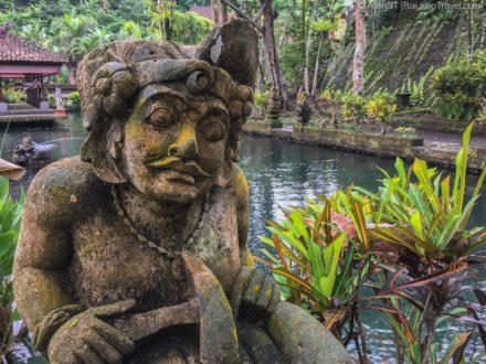 Sculpture in Gunung Kawi Sebatu (Bali)