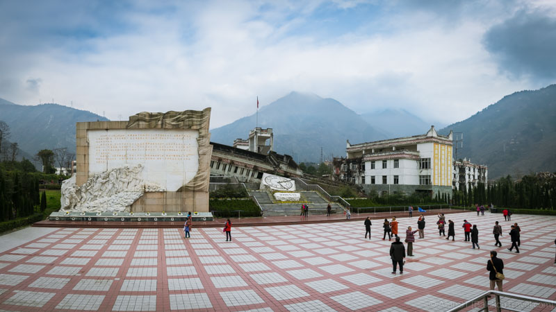 Earthquake Relics Site of Xuankou Middle School (映秀镇漩口中学遗址) (Sichuan, China) (Mar-2017)