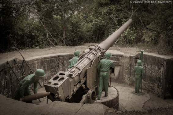 Cannon Fort, Cat Ba Island (Vietnam)