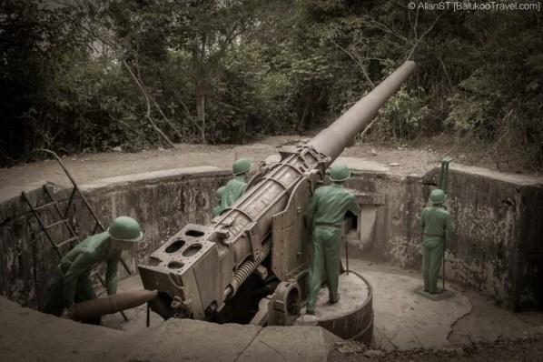 Cannon Fort, Cat Ba Island (Vietnam)