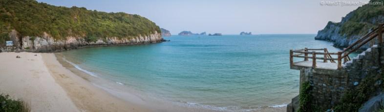 Cat Co 1 beach (Cat Ba Island, Vietnam)
