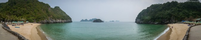 Cat Co 2 beach (Cat Ba Island, Vietnam)