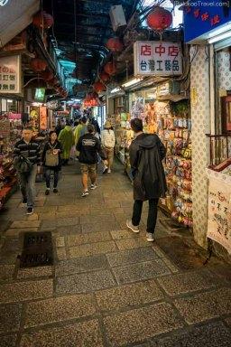 Narrow alley at Jiufen Old Street (Taiwan) @2016