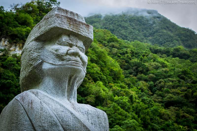 Sculpture at Taroko Gorge, Taroko National Park Visitor Center (Hualien, Taiwan) @2016