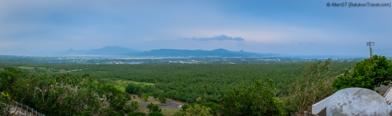 View from Guanshan (關山), Kenting National Park (Taiwan)