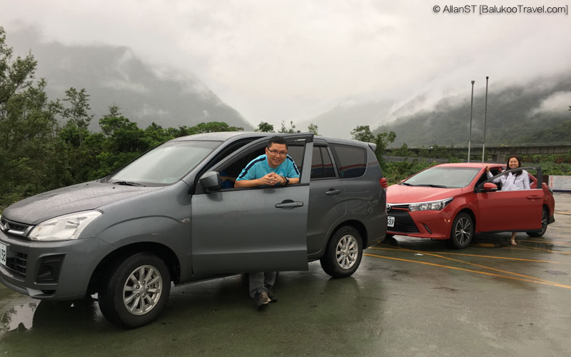 Our rental cars in Taiwan @2016