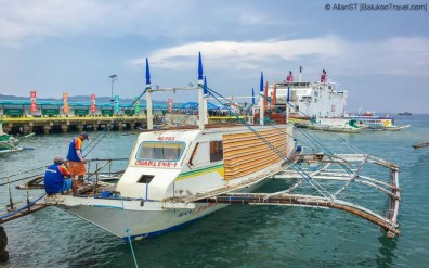 Ferry between Boracay and Caticlan (Philippines) @Sep2017