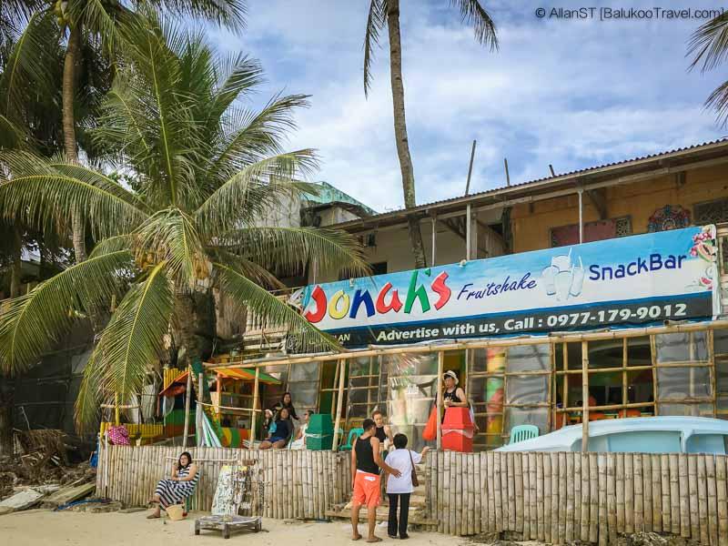 Jonah's Fruitshake, Station 1, White Beach, Boracay (Philippines) @Sep2017
