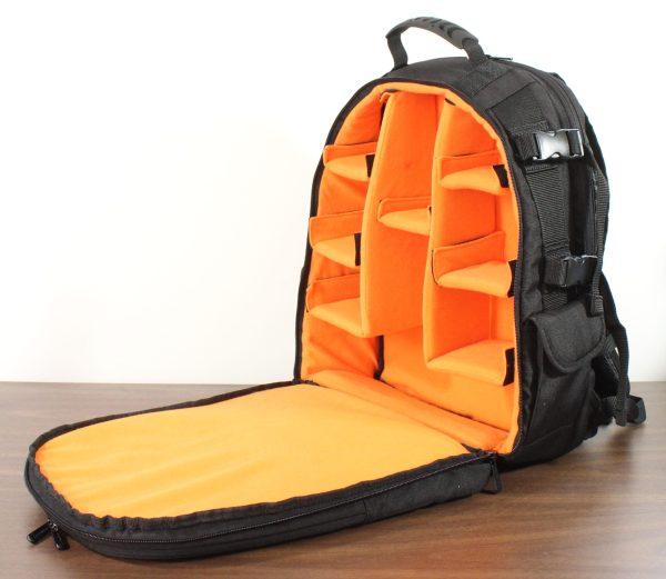 Amazon Basics Camera Backpack Interior