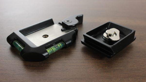 SLIK DQ-20 Compact Quick Release Adapter Set - Large Black