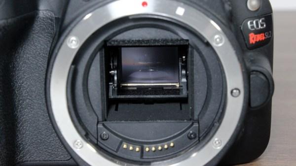 Canon EOS Rebel SL2 / EOS 200D DSLR Camera Mirror