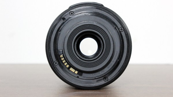 Used Canon EF-S 55-250mm 1:4-5.6 IS II Lens Rear