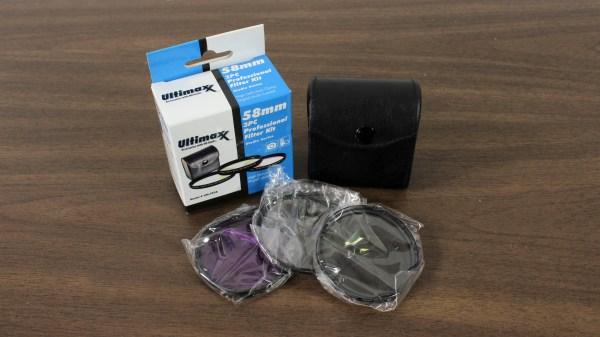 Ultimaxx Studio Series 58mm 3pc Professional Filter Kit