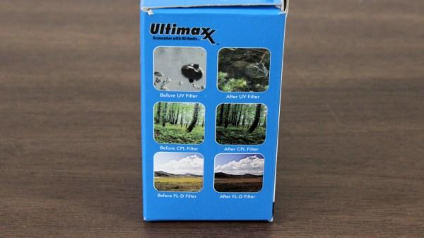 Ultimaxx Studio Series 58mm 3pc Professional Filter Kit Side