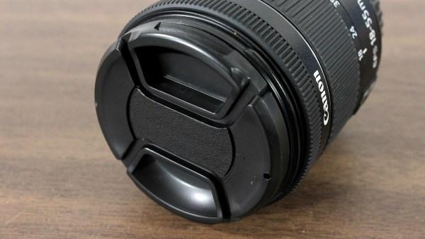 58mm Center Pinch Snap-On Lens Caps for Nikon Canon Sony Fuji DSLR Lenses - Lens Not included