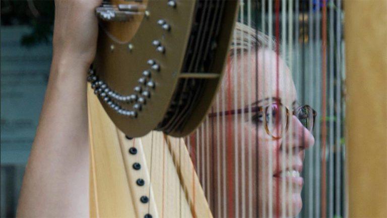 Luise royal – Führung mit Harfenkonzert