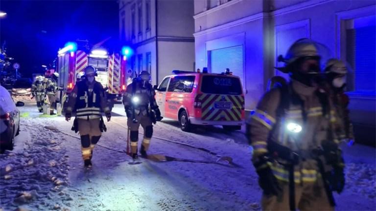 Feuerwehr Menden in nächtlichem Einsatz