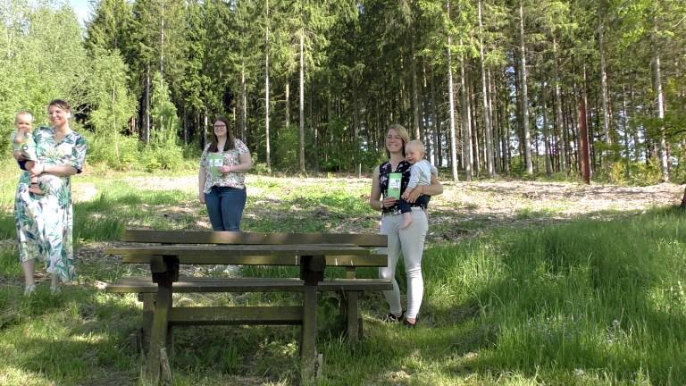 Start mit 50 Bäumen für den Babywald