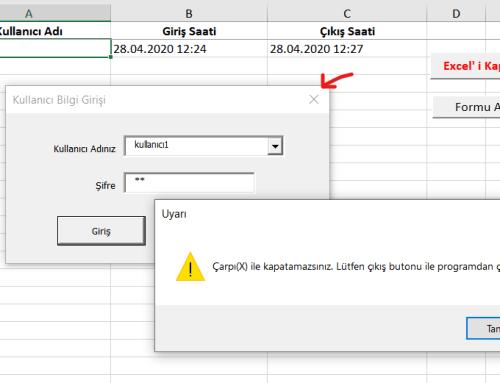 Userform Login ( Excel )
