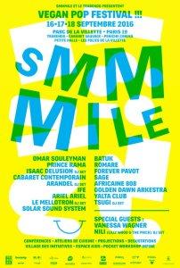 smmmile, vegan, pop, festival, affiche, bam