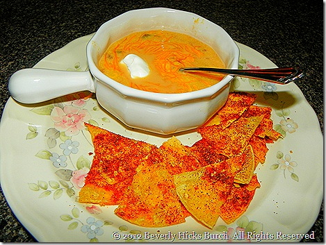 Spicy Corn Soup