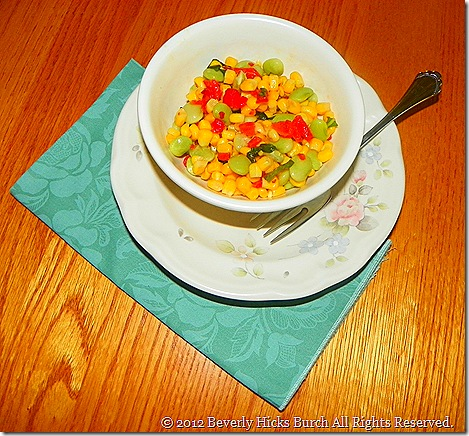 corn and lima bean salad