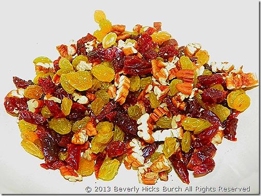 Raisins, Cherries and Nuts