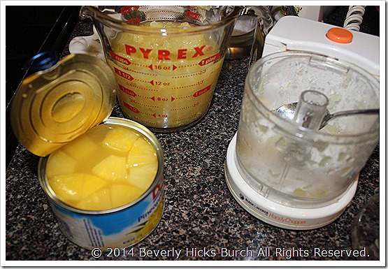 How to make crushed pineapple
