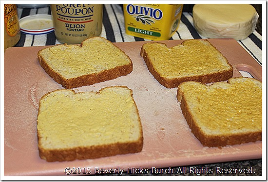 Use Mustard on Other Side of Bread