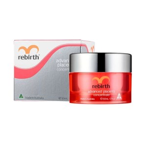Rebirth Advanced Placenta Concentrate cùng vỏ hộp