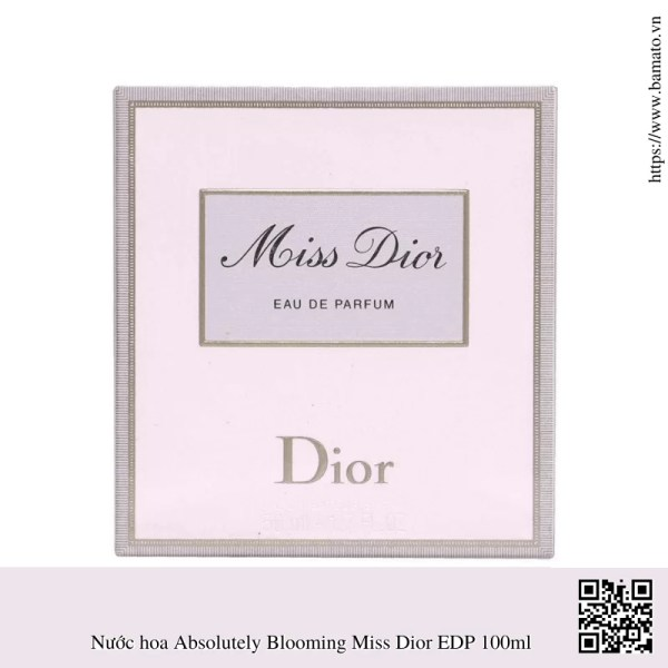 Nuoc hoa Absolutely Blooming Miss Dior EDP 100ml 2