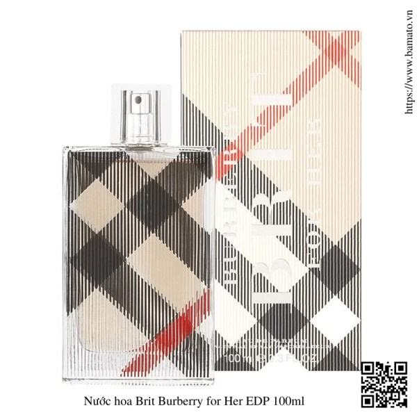 Nuoc hoa Brit Burberry for Her EDP 100ml 1