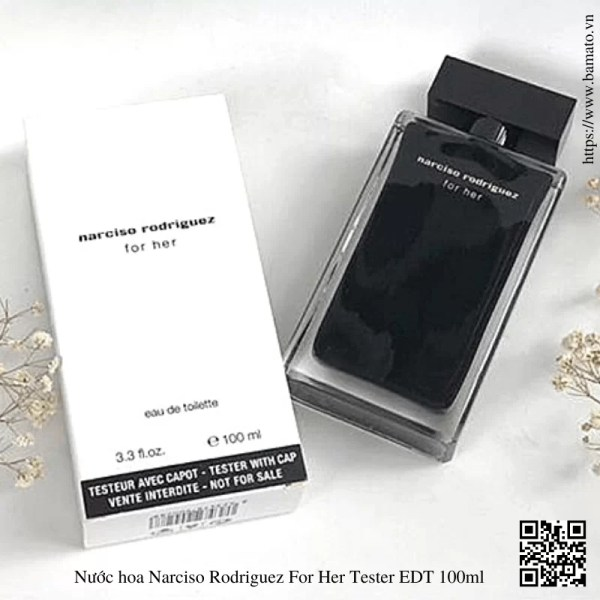 Nuoc hoa Narciso Rodriguez For Her Tester EDT 100ml 4