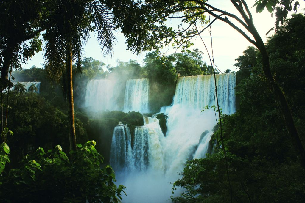 Waterfalls in Iguazu.